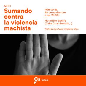 Ciudadanos (Cs) Getafe solicita medidas específicas para luchar contra la Violencia de Género que sufren las mujeres mayores