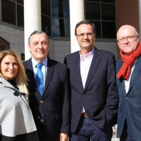 Ciudadanos (Cs) visita los juzgados de Getafe para conocer la situación de la Justicia en el municipio